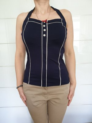 Neckholder Top in pin up style