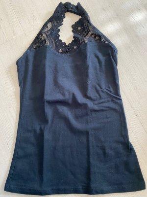 H&M Lace Top black
