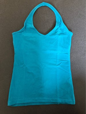 H&M T-shirt blu cadetto