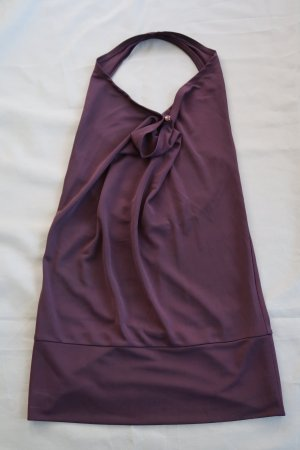 Vero Moda Top estilo halter púrpura