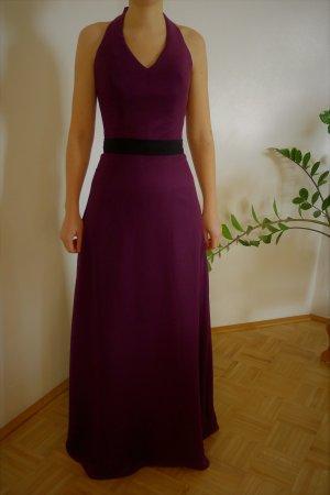 Robe dos-nu violet