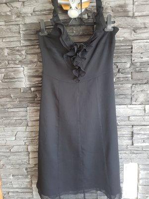 Comma Vestido de cuello Halter negro