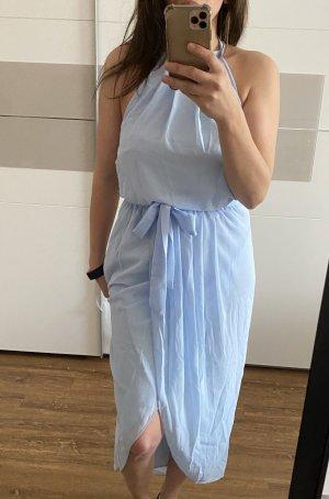 SheIn Halter Dress azure