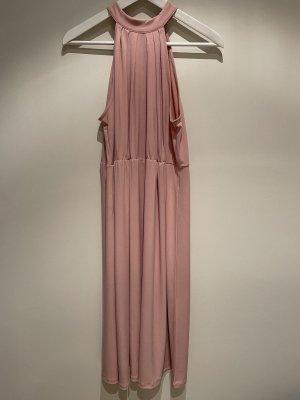 Vila Clothes Halterjurk roze