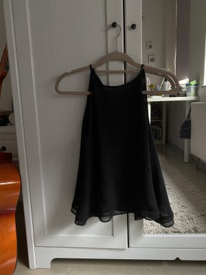 Zara Top senza maniche nero