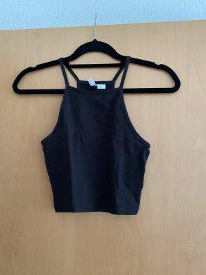 H&M Top senza maniche nero