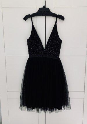 Needle & Thread Partykleid Kleid Party Pailletten schwarz 36 eher 32