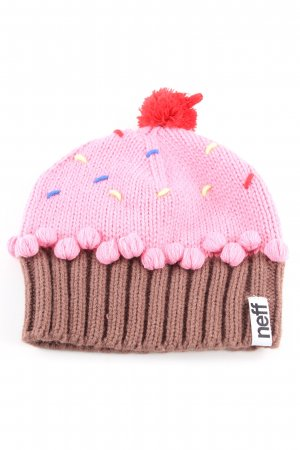 Neff Knitted Hat multicolored street-fashion look