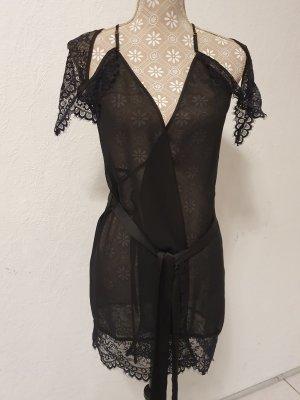 Hunkemüller Robe de nuit noir