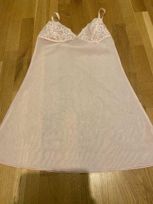 Robe Babydoll rosé tissu mixte