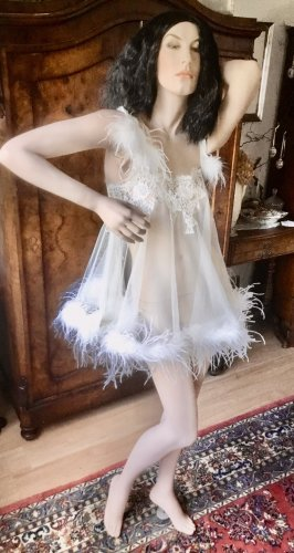 Agent Provocateur Negligee white