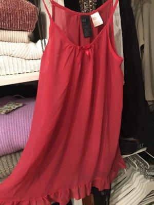 H&M Négligé rouge framboise