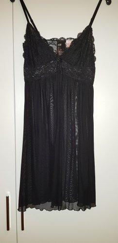 Negligee Nachthemd schwarz