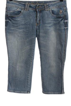 Neighborhood 3/4 Length Jeans blue casual look