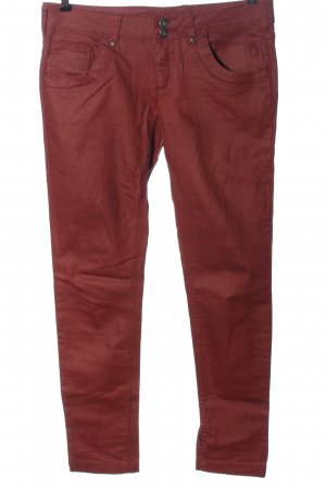 Neighborhood Low Rise Jeans red casual look