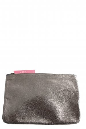 Neiman-Marcus Clutch silberfarben Casual-Look