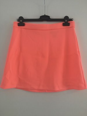 Forever 21 Skaterska spódnica różowy neonowy-pomarańczowy neonowy