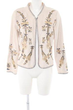 Blouson mixed pattern extravagant style