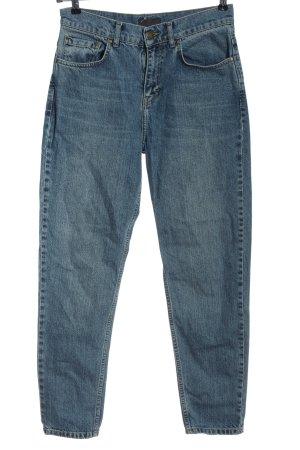 Nelly Jeans taille haute bleu style décontracté