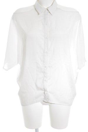 Nelly Trend Short Sleeved Blouse white elegant