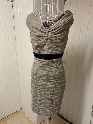 NEMO Pencil Dress grey brown