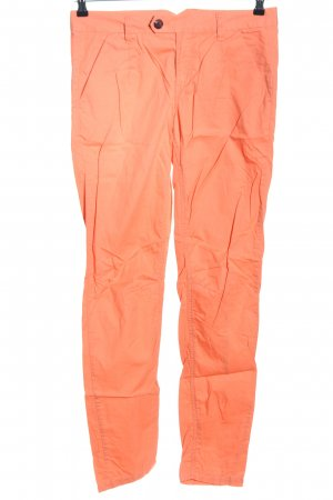 NEO Label Chinohose hellorange Casual-Look