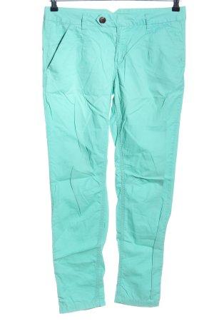 NEO Label Pantalón de cinco bolsillos turquesa look casual