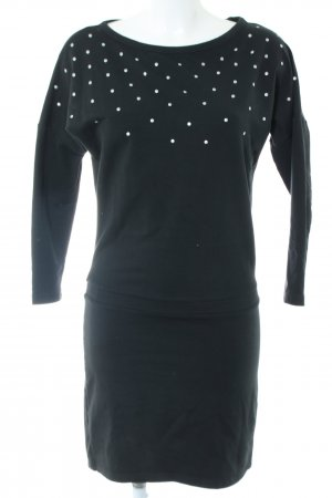 NEO Label Jerseykleid schwarz Casual-Look