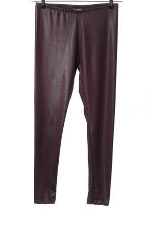 NEO Label Leggings braun Casual-Look