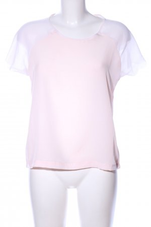 NEO Label Transparenz-Bluse pink Casual-Look