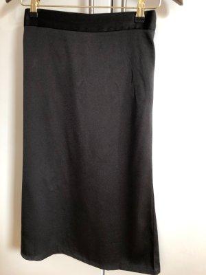 Neo Noir Satin Skirt XS