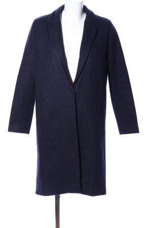 Neo Noir Abrigo de entretiempo azul look casual