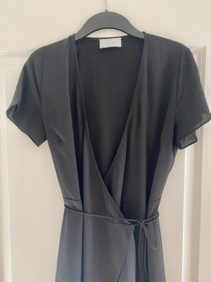 Neo Noir Kopertowa sukienka czarny