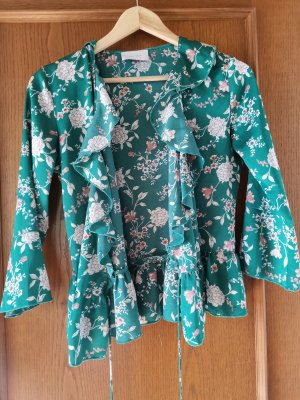 Neo Noir Wraparound Shirt green
