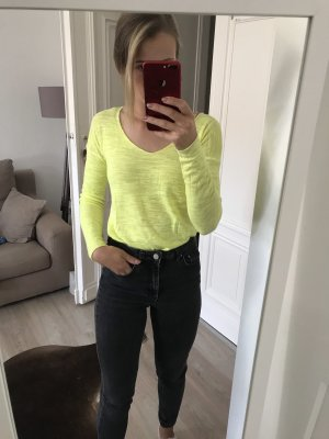 Neon Farbener Pulli Witty Knitters in XS