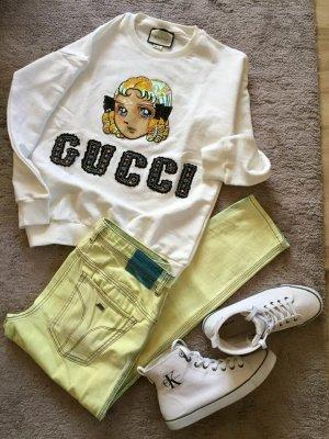 Neon gelb/grün Jeans von Miss Sixty