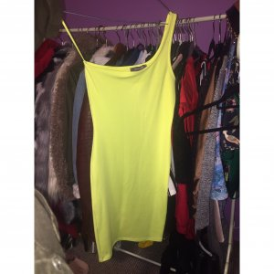 Neon gelb kleid