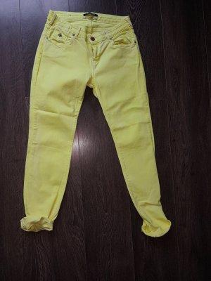 neon gelbe Jeans Maison Scotch 31/32