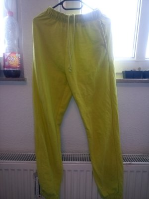 Sweat Pants neon yellow