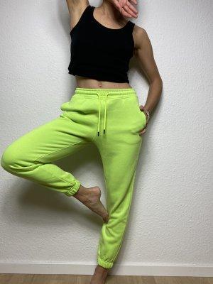 Pantalon de jogging vert fluo-vert prairie
