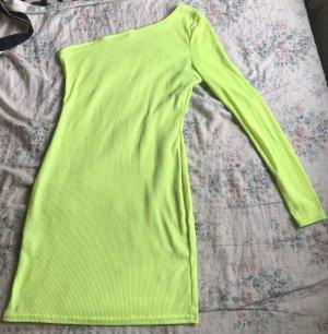Neon grünes Kleid