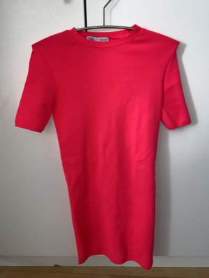 Zara Mini Abito rosso neon