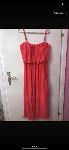 Neon Pink Abendkleid