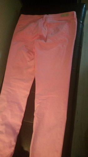 AG Jeans Low-Rise Trousers neon pink
