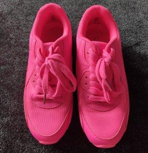 Neon pinke Sneaker (wie Nike Air Max Mash), Gr.37, super Zustand