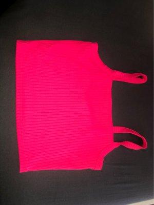 Neon Pinkes Bauchfreis Oberteil