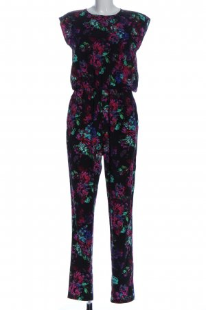 Neon Rose Jumpsuit Allover-Druck Casual-Look