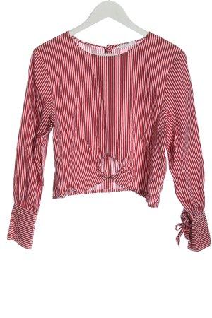 Neon Rose Langarm-Bluse