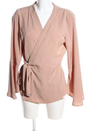 Neon Rose Wickel-Bluse nude Casual-Look