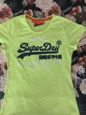 Neon-T-Shirt von Superdry